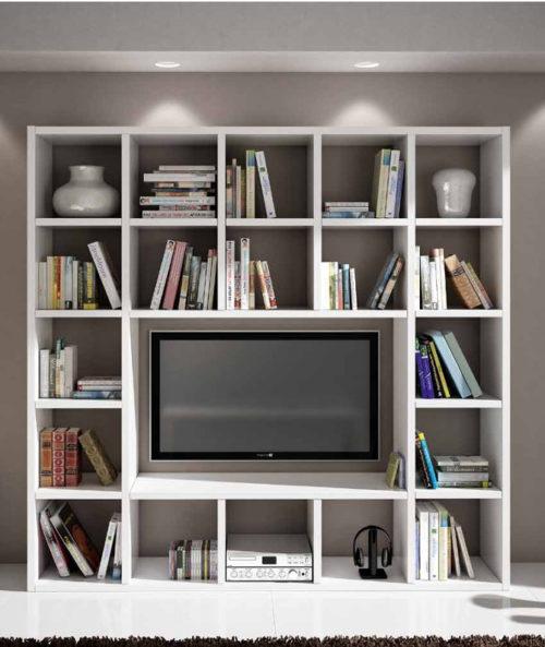 Libreria Parete Moderna Essegia Arredamenti